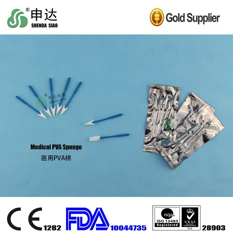Wholesale Medical Supplies Surgical Instrument Used With Eyes Medical PVA Sponge Cotton swabs