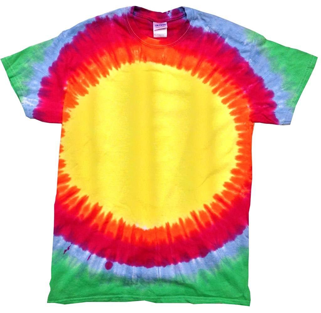 a8bb09011d4d Buy Cool Shirts Kids Tie Dye Shirt Sunburst Rainbow T-Shirt