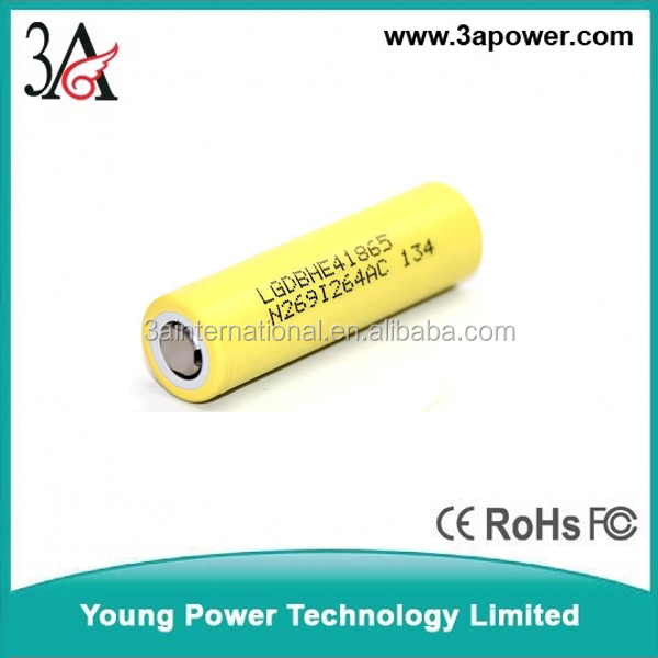 South Korean imports of LG 18650 HE4 2500mah Battery power tools electronic cigarette battery Required