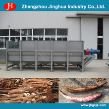 Automatic industrial cassava washing and peeling machine