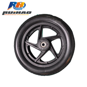 5 Spoke PU Foam Bicycle Wheel 12 Inch Wheelchair Wheel 2.125