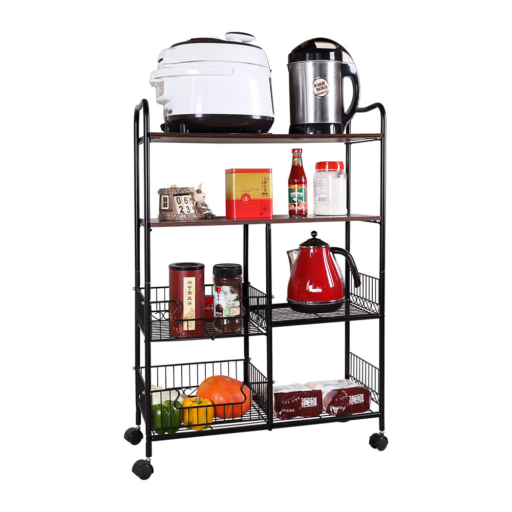 Multipurpose kitchen living room shelf storage furniture