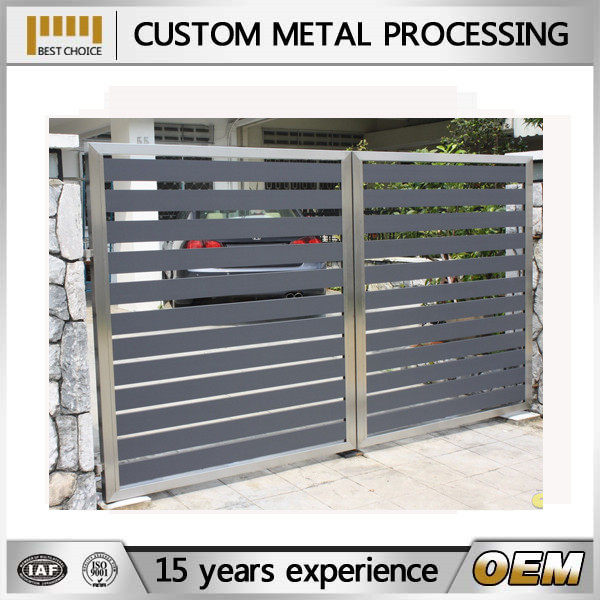 Modern Residential Gate Steel Gates Grill Design - Buy Residential ...