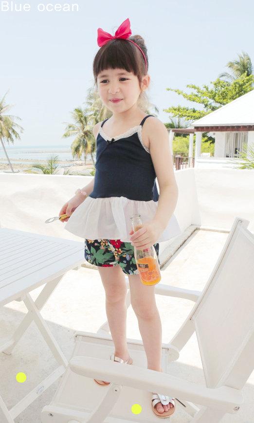 Дети в одежда девочки одежда дети цветочный шорты одежда для младенцев девочки шорты 13145 K