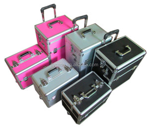 China aluminum cases trolley tool suitcase for tools in aluminum case