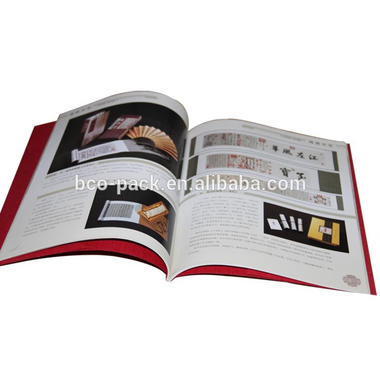 Perfect binding soft cover book with laminated printing