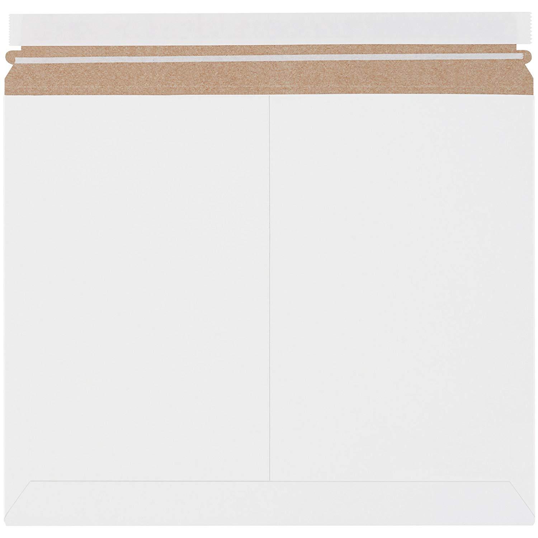 "Boxes Fast BFRMU1411W Utility White Flat Mailers, 14 7/8"" x 11 7/8"", White (Pack of 200)"