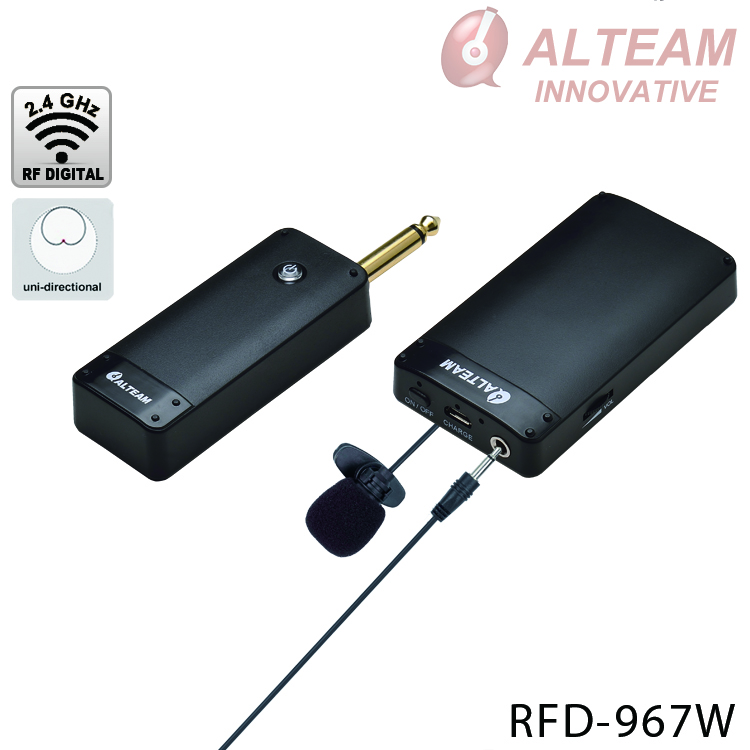 For teaching, conference wireless wifi mini headset microphone system