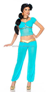 Hot Selling Jasmine Princess Costume Ladies Dancer Sexy Cosplay Costume BWG17211  sc 1 st  Alibaba & Hot Selling Jasmine Princess Costume Ladies Dancer Sexy Cosplay ...