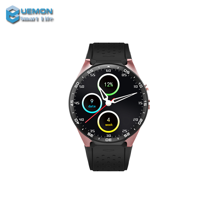 2017 Smart watch KW88 1.39 Inch Touch Screen 512 Mb Ram 4 Gb Rom Android 5.1 GPS Smart WristWatch