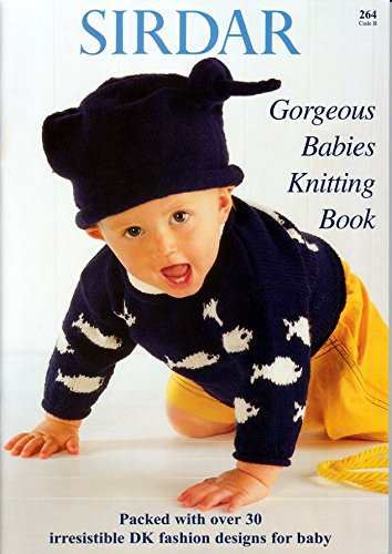 Get Quotations · Sirdar Knitting Pattern Book - Gorgeous Babies Knitting  Book 53ca26de8