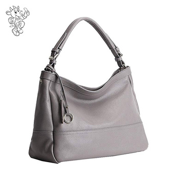 Guangzhou Factory Wholesale Price Womens Leather Handbags Shoulder Bag Hobo  Soft Leather Tote Work Cross Body 158918f062862