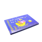 Colorful high quality hardcover cardboard book children board printing factory