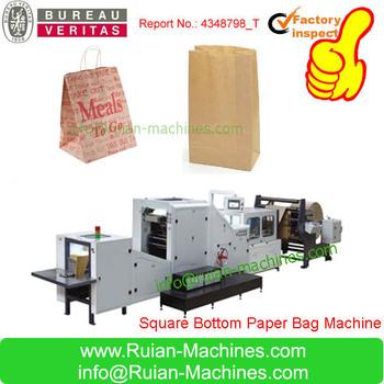 Machine To Make Paper Bag Paper Bag Manufacturing Machine Food Paper Bag Machine Buy Machines To Make Paper Bags Paper Bag Manufacturing