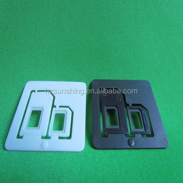 2014 New Product Hot-sell High quality&factory price sd card sim adapter nano to micro sim adapter