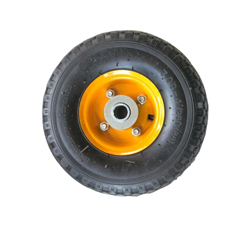 Trolley natural rubber quality small pneumatic wheels and tyres