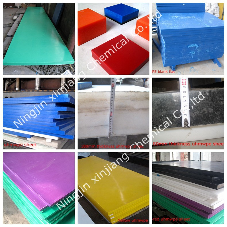 6mm Hdpe Sheet Clear Wear Resistant