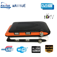 Mini Dvb S2 Set Top Box Iptv Wifi Remote Control Cheap Full Hd TV Digital Fta Satellite Receiver