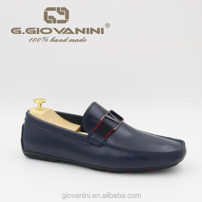 New fashion design hot sale high grade leather casual shoes men 2019  leather driving men shoes ac573556d7da