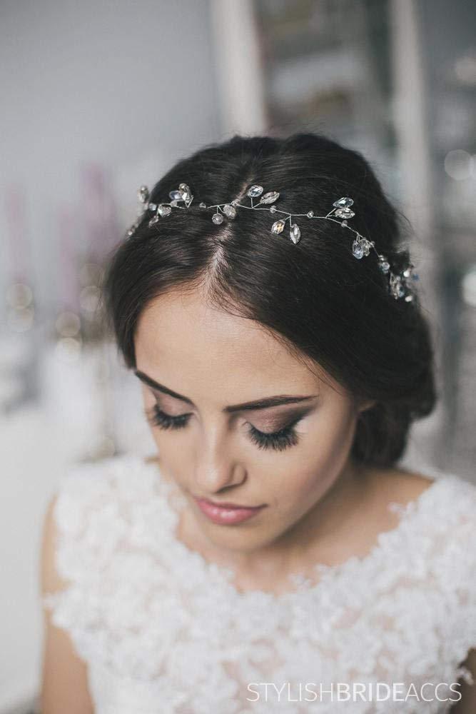 Wedding Super Crystal Hair Vine, Bridal Hair Vine, Crystal Hair Accessories, Crystal Vine, Bridal Hairpiece, Bridal Hair Vine