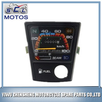 SCL-2013111073 YBR125 Motorcycle parts speedometer motorcycle electronic