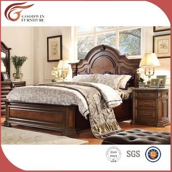 Latest American Country Style Wooden Bedroom Furniture WA150