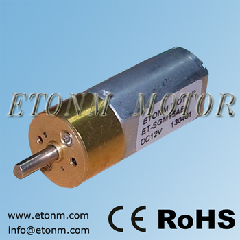 Small Gear Reduction Electric Motor Buy 6v Motorreductor