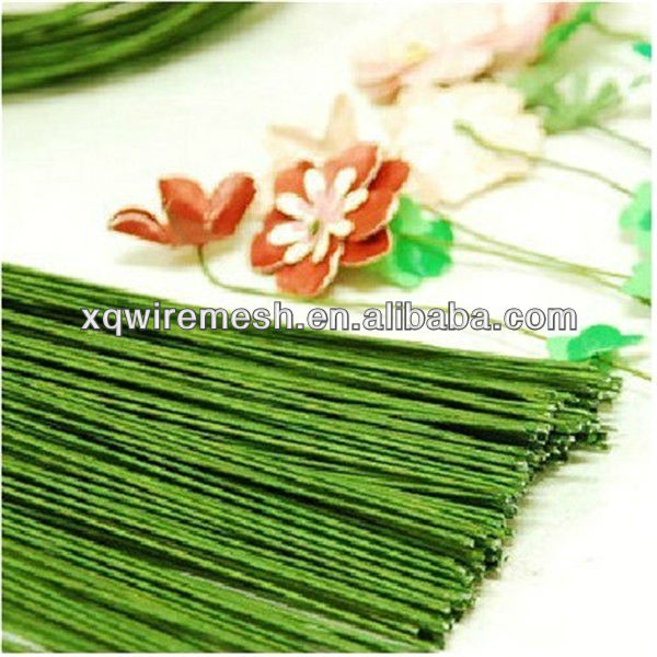 good look stem wire for decorative flower/paper coated wire
