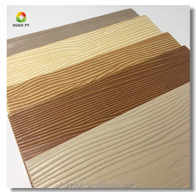 Revestimiento exterior de revestimiento de fibra de - Revestimiento imitacion madera ...