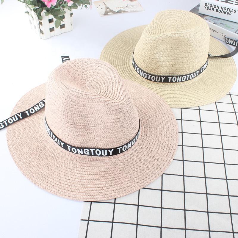 Yaz stok promosyon ucuz katlanır hakiki erkek panama hasır şapkalar