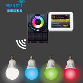 Mi light RGB Color Changing wifi led light bulb E14 Lamp Socket
