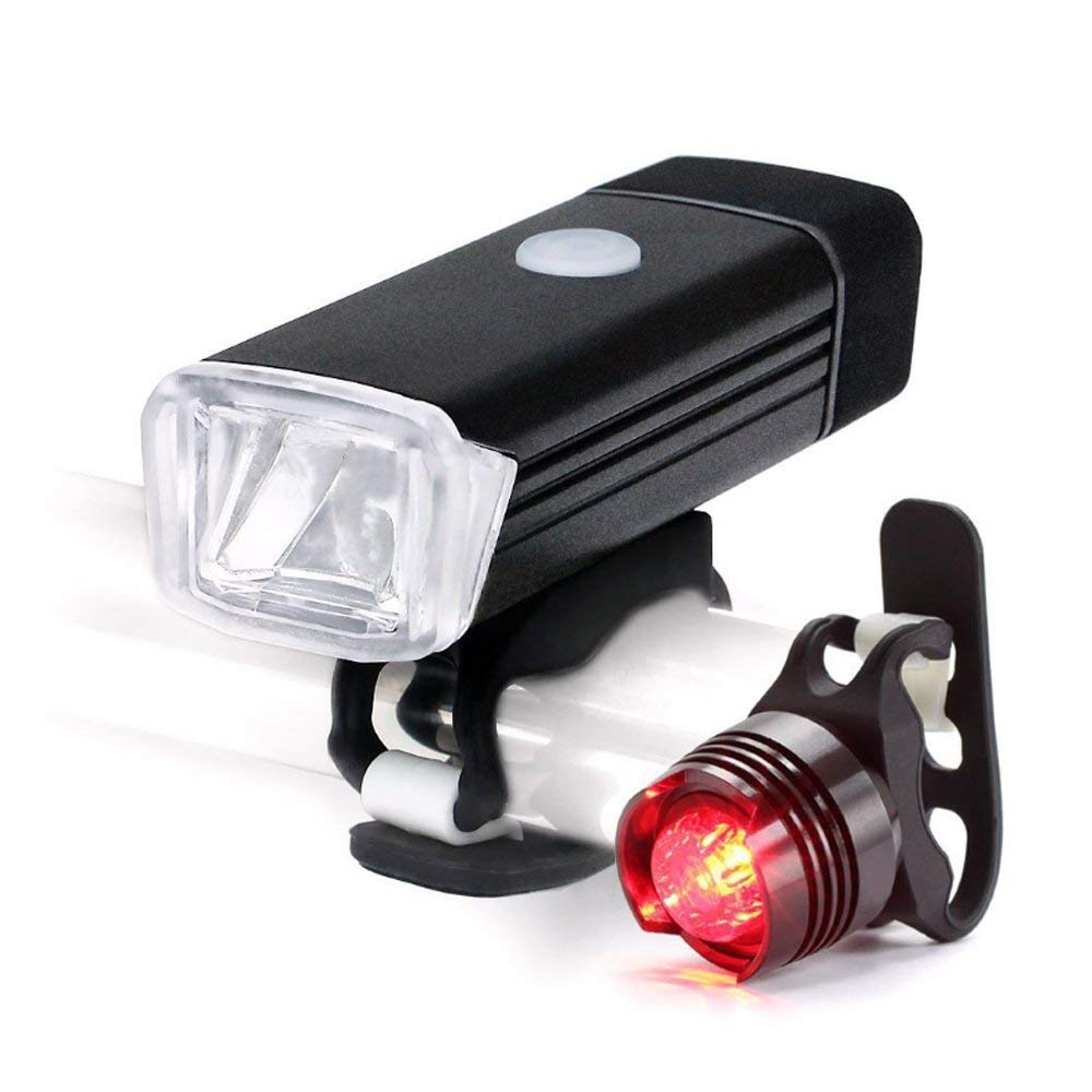 53c72e9b370 Get Quotations · Myconvoy USB Bike Lights