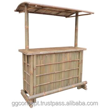 Btb106 Natürliche Bambus Tiki Bar Mit Bambus Dachbar Möbel Buy