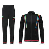 Wholesale good quality training soccer jacket men's tracksuit soccer uniform