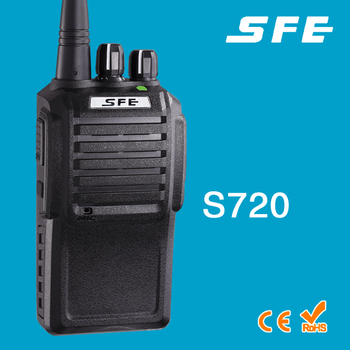 SFE S720 VHF UHF Wasserdichtes Walkie-Talkie IP65