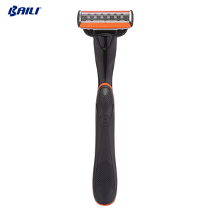 Guangdong System Manual Shaving Razor 6 Blade Black