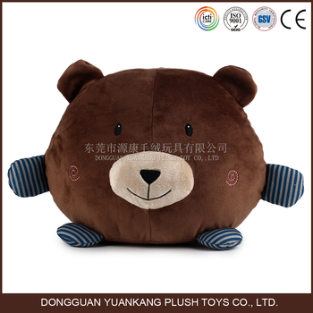 Plush Animal Bear Shaped Body Decorative Throw Cushion Pillow - Buy Animal Shaped Body Pillow ...
