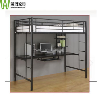 Metal Queen Size Loft Bed King Size Loft Bed Adult Loft Bed