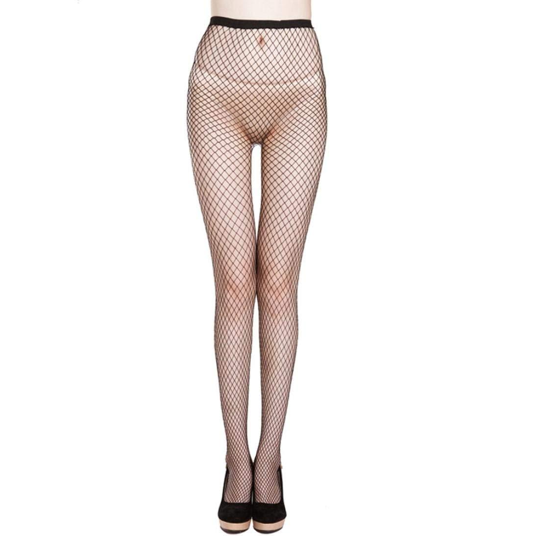 NEWONESUN-Socks Stockings,NEWONESUN Women Sexy Lace Thigh Stocking Elastic Pantyhose Socks (Black)