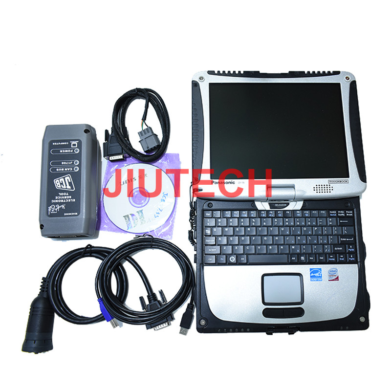 Construction machinery diagnostic scanner JCB Electronic Service tool with JCB Service Master Diagnosis Software +T420 Laptop
