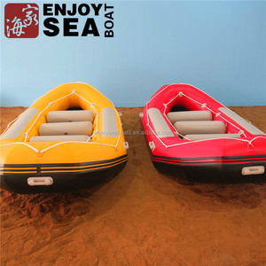 Commercial Grade whitewater boats inflatable drifting inflatableboat PVC river sailing boat used for kids and adult