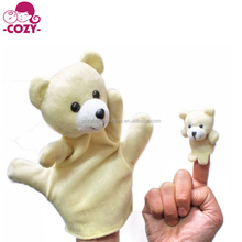 2017 Hot Sale Finger Puppets Set Novelty Educational Toys for Baby Story Time, Shows, Playtime, Schools