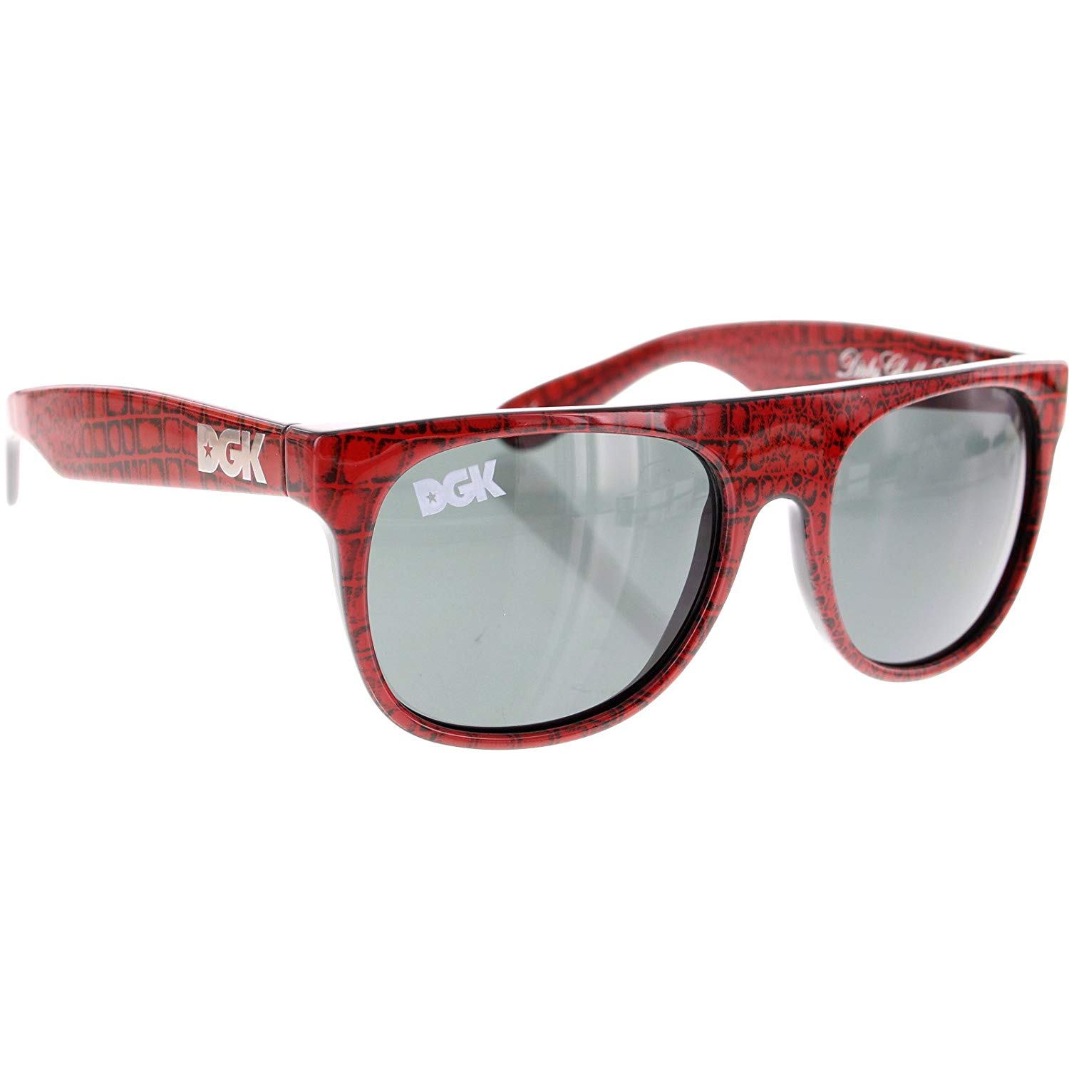 fa46cb8e025 Get Quotations · DGK Skateboards Paya Shades Red Sunglasses