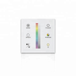 2 3 way 220v remote control wireless wifi smart led touch screen digital dimmer wall light switch