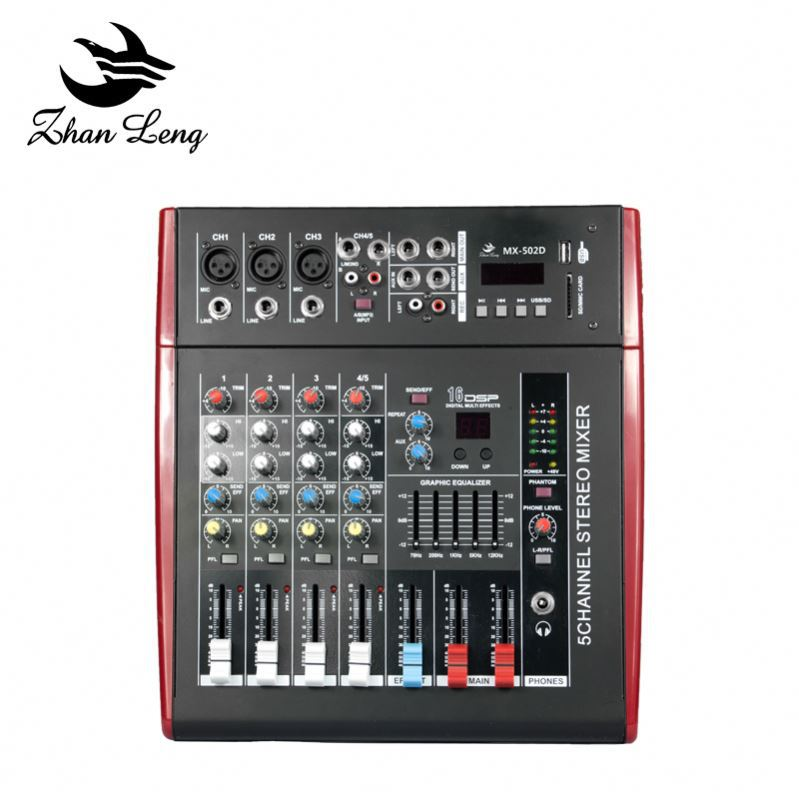New design music mixer tiger touch dmx512 light mixing console