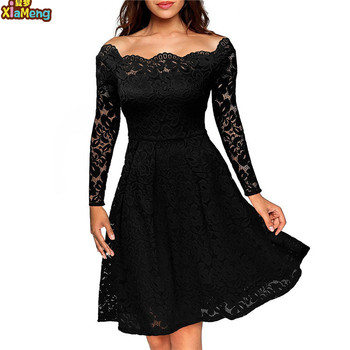 Fashionable black dress wholesale women clothing fabric for dress woman
