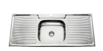 Faucet Kitchen Stainless Steel Sink UAE 1200x500mm single bowl ...