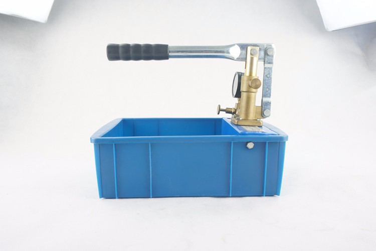 Factory Price 0-50Bar Portable Hydraulic Water Pressure Testing Hand Pump