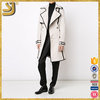 SHANGYI double breasted stretch cotton trench quality lady fashion coat
