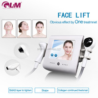 Portabel Thermo face lift Skin rejuvenation rf beauty machine 7 polars face body lifting vacuum rf cooling system